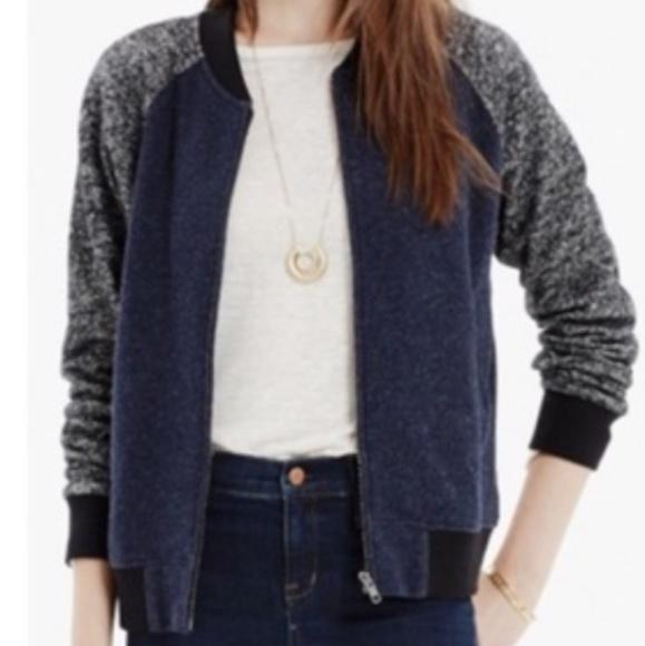 Madewell Jackets & Blazers - Madewell Wool Blend Bomber Jacket